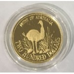 1991 $200 Pride of Australia Gold Proof Coin Emu