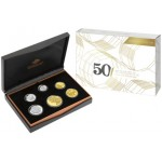2015 Australian 6-Coin Proof Set - 50 Years of the Royal Australian Mint