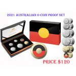 2021 Australian 6-Coin Proof Set