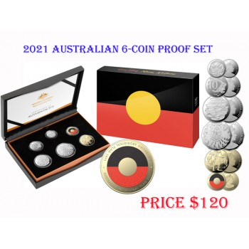 2021 Australian 6-Coin Proof Set