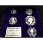 2000 Australian Masterpieces in Silver Set