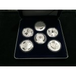 2001 Australian Masterpieces in Silver Set