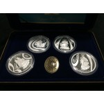 2002 Australian Masterpieces in Silver Set