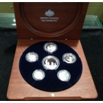 2005 AUSTRALIAN 6-COIN SILVER PROOF SET