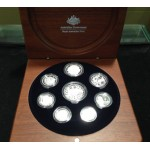 2006 Australian 8-Coin Silver Proof Set