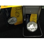 2007 Australian 1oz Silver Proof Kangaroo Coin