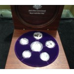 2007 Australian 6-Coin Silver Proof Set