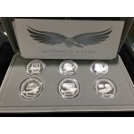 2008-2010 Australian Masterpieces in Silver Proof Coin Set