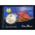 2009 Australian 1oz Silver Uncirculated Kangaroo Coin