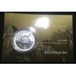 2010 Australian 1oz Silver Kangaroo Uncirculated Coin