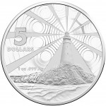 2015 $5 Australian Lighthouse Silver Frosted Uncirculated Coin Aids to Navigation