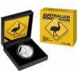 2015 Australian 1oz Silver Road Sign Series – Emu