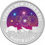 2015 SYDNEY NEW YEAR EVE 1/2oz SILVER COIN