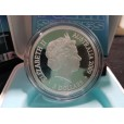 2009 International Polar Year 1oz Silver Proof Coin Aurora Australis