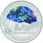2018 Sydney New Year's Eve 1/2oz Silver Coin