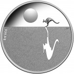 2018 Australia Kangaroo at Sunset Silver Proof Coin