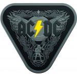 2018 $5 ACDC 45 Years of Thunder Silver Triangular Coin