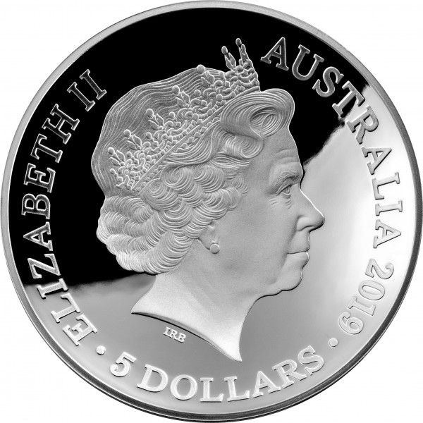 2019 $5 Domed Silver Coin 1626 A New Map of the World - Sydney Coins