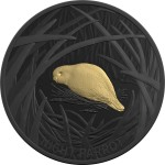 2019 $5 Echoes of Australian Fauna Coin Series - Night Parrot