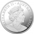 2020 100 Years of Qantas 1/2oz Silver Proof Coin