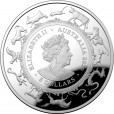 2020 Year of the Rat 1oz Silver Domed Proof Coin