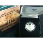 1995 Australian Silver $1 Proof Coin - Waltzing Matilda