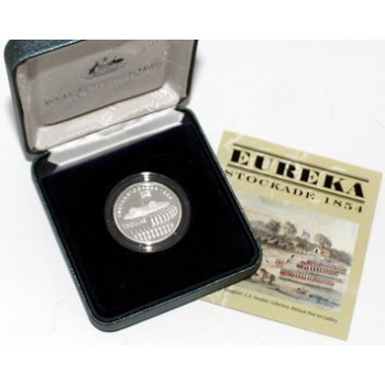 2004 Australian $1 Silver Eureka Stockade Proof Coin