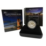 2007 Australian $1 Silver Proof Coin - 75th Anniversary of the Harbour Bridge