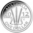 2012 Wheat Sheaf Dollar $1 Silver Proof Coin
