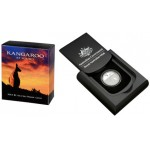 2013 $1 Fine Silver Proof Coin - Kangaroo at Sunset