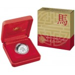 2014 Year of the Horse $1 Silver Proof Coin