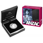 2015 $1 Australian Silver Proof  Centenary of Anzac Coin