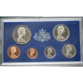 1984 Australian 6-Coin Proof Set