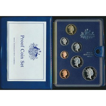 1985 Australian 7-Coin Proof Set