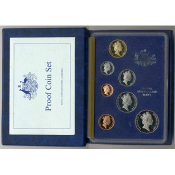1987 Australian 7-Coin Proof Set