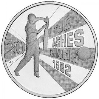 2013 Australian 20c Unc CuNi Ashes Coin