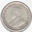 1935 AUSTRALIAN ONE SHILLING SILVER COIN GOOD FINE