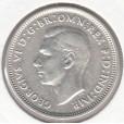 1941 AUSTRALIAN ONE SHILLING SILVER COIN VERY FINE