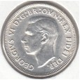 1950 AUSTRALIAN ONE SHILLING COIN UNCIRCULATED