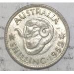 1952 AUSTRALIAN SILVER ONE SHILLING