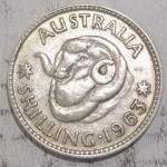 1963 AUSTRALIAN SILVER ONE SHILLING