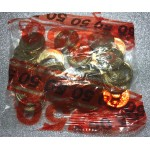 2015 $2 Lest we Forget Coloured Security Bag of 25 Coins